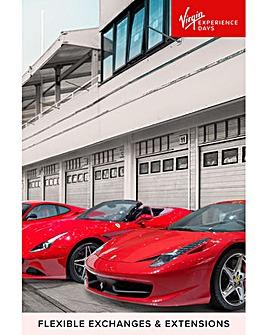 The Ultimate Ferrari Four Car Driving Experience