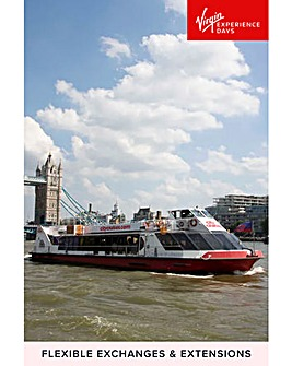 Three Course Meal & Thames Cruise for 2