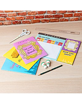 Friends Iconic Sitcom Stationary Set for Home or Work