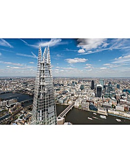 The View from The Shard and Marco Pierre White Three Course Meal for Two