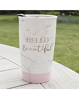 Ava & I Double Walled Travel Mug,