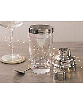 Ava & I Glass Cocktail Shaker