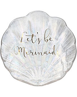 Ava & I Glass Shell Trinket Dish