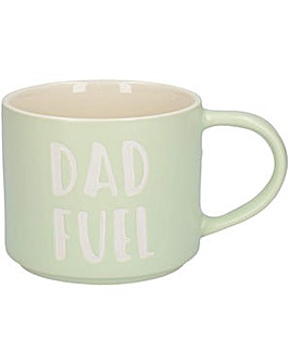 Ava & I Dad Fuel Stackable Mug