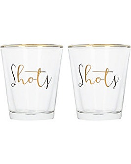 Ava & I Set of 2 Shot Glasses