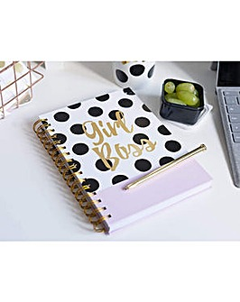 Ava & I Girl Boss Notebook