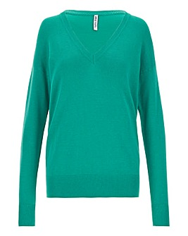 Jade V Neck Jumper
