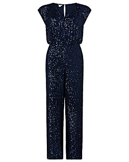 Monsoon Leila Sequin Jumpsuit