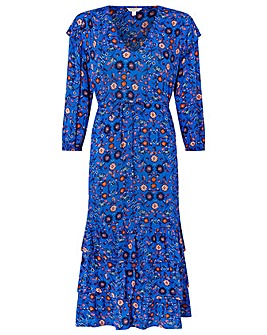 Monsoon Tilly Ecovero Floral Dress