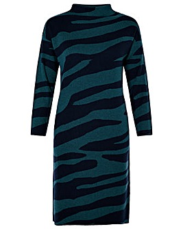 Monsoon Celine Animal Dress