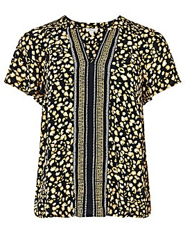 Monsoon Camillia Print  Top