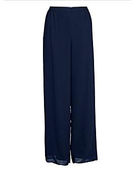 Gina Bacconi Chiffon Layered Trouser