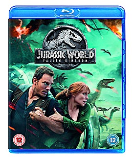 Jurassic World Fallen Kingdom Bluray