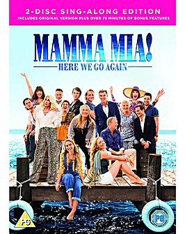 Mamma Mia Here We Go Again DVD