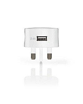 Nedis USB Wall Charger 2.4 A