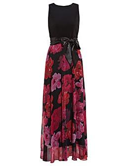Gina Bacconi Arella Floral Maxi Dress