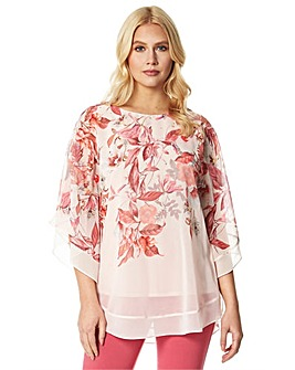 Roman Sparkle Embellished Floral Over...