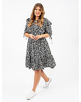 Lovedrobe GB Splash Spot Midi Dress
