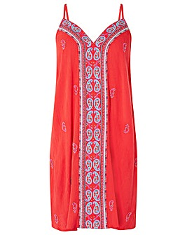 Monsoon Sushma Embroidered Ecovero Dress