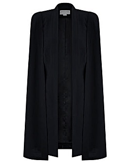 Monsoon Katya Longline Cape Jacket