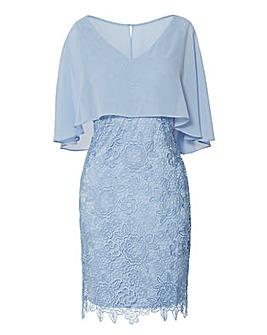 Gina Bacconi Jonina Embroidered Dress