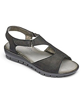 Aerosoles Leather Sandals Standard D Fit