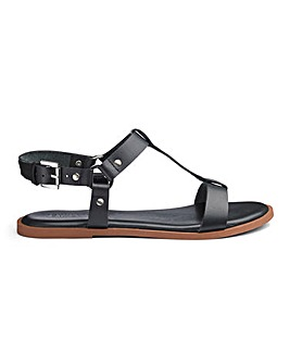 Leather Comfort Sandals E Fit