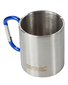 Regatta Steel Mug with Karabiner