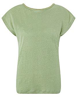 Monsoon Lily Linen T-Shirt