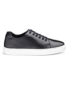 Leather Lace Up Leisure Shoes EEE Fit