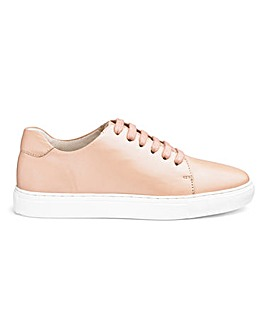 Leather Lace Up Leisure Shoes E Fit