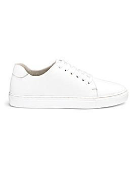 Leather Lace Up Leisure Shoes Extra Wide EEE Fit