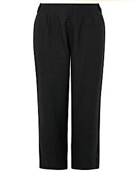 Monsoon Bonita Plain Linen Trouser