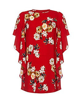 Mela London Curve Floral Blouse