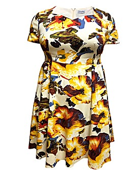 emily Elizabeth Sweetheart Swing Dress