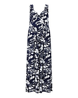 Mela London Curve Floral Maxi Dress