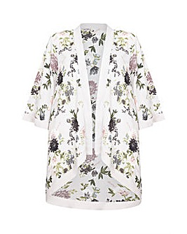 Mela London Curve Floral Printed Kimono