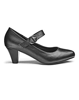 Heavenly Soles Mary Jane Shoes E Fit
