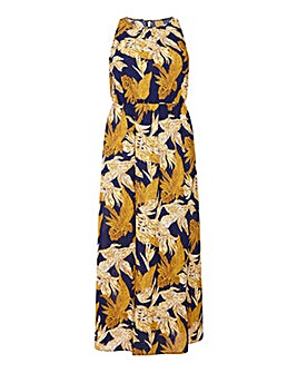 Mela London Curve Floral Maxi Dress