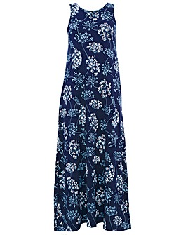 BRAKEBURN COW PARSLEY MAXI DRESS