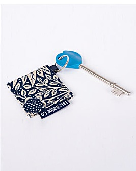 Radar Key With William Morris Key Ring