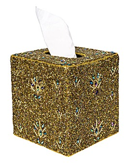 Boutique Beaded Tissue Box