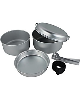 Yellowstone 5 Piece Aluminium Cook Set