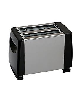 Quest Low Wattage Stainless Steel 2 Slice Toaster