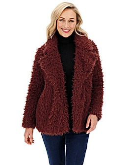 Vero Moda Faux Fur Teddy Jacket