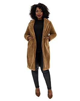 Vero Moda Long Teddy Coat