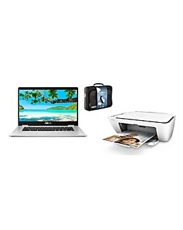 "Asus 15"" Chromebook Printer Case bundle"