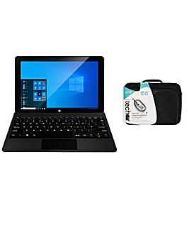 "Zest 11"" 2 in 1 Laptop Bundle"