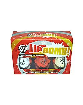 W7 Christmas Edition Lip Bomb Trio Set