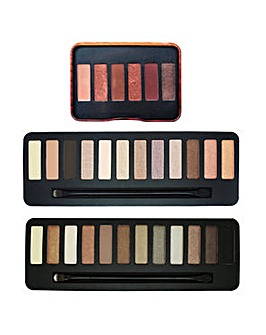 W7 The Glam Box Eyeshadow Set